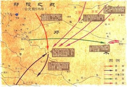 鄢陵之战是哪两个国家