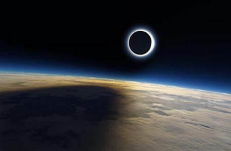 夏至日可看到金边日食