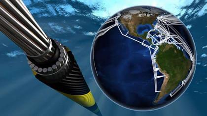 海底电缆真的在海底吗