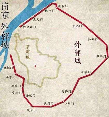 1366年9月15日:朱元璋令刘基等拓建建康城_明清历