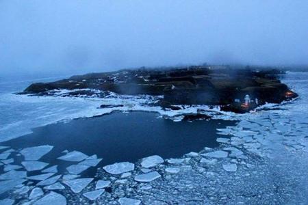 海洋结冰的原因和危害