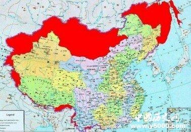 日本的地图一直是用中国的名称标定