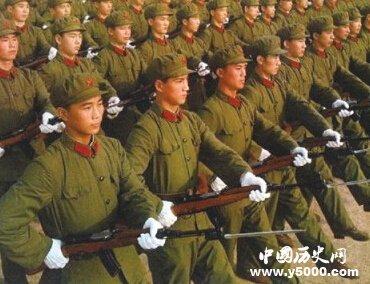 中国人民解放军军服发展历史