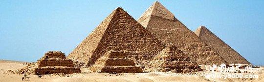 埃及法老胡夫的大金字塔