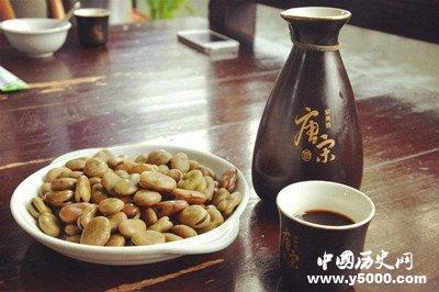 茴香豆与黄酒完美搭配