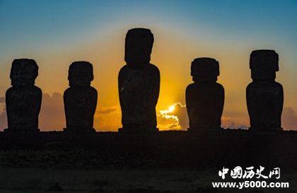 复活节岛简介复活节岛石像是谁雕刻的石像有什么作用