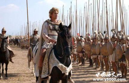 亚历山大东征为什么没有进攻中国而直接返回?