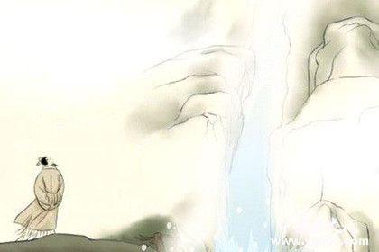 李白《望庐山瀑布》原文鉴赏作品翻译创作背景艺术手法介绍