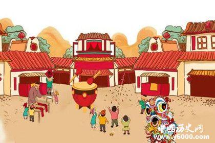 春节的历史渊源春节的由来春节的传说故事有哪些