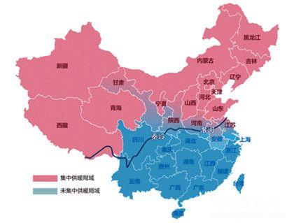 南北分界线在哪里设立南北分界线的意义是什么
