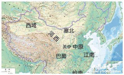 中原指哪里中原地理位置哪些朝代建都中原的