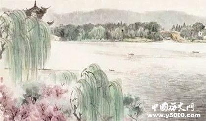 白居易《钱塘湖春行》澳门新永利平台官网翻译诗歌赏析创作背景