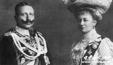 德皇威廉二世生平故事简介威廉二世和希特勒有什么关系?