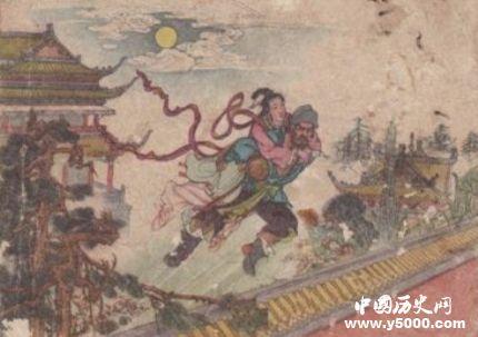 唐朝传奇故事昆仑奴磨勒成就崔生的一段美好姻缘
