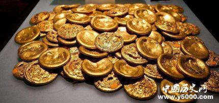 西汉巨量黄金突然消失之谜