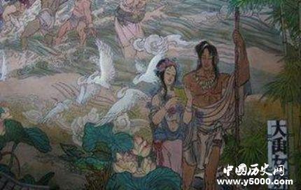 夏朝女娇生平故事简介女娇的传说有哪些?