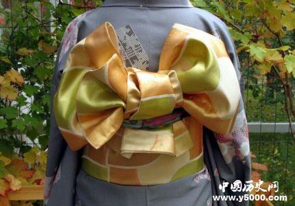 日本和服发展历史简介和服为什么要背个枕头?