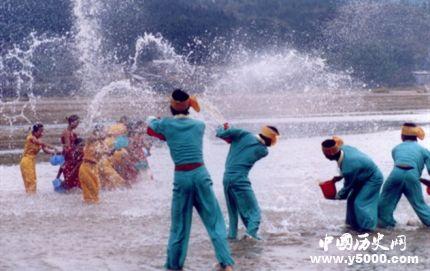 泼水节风俗习惯 泼水节是哪个民族的?