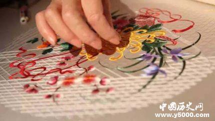 中国刺绣发展历史 刺绣的种类有哪些?