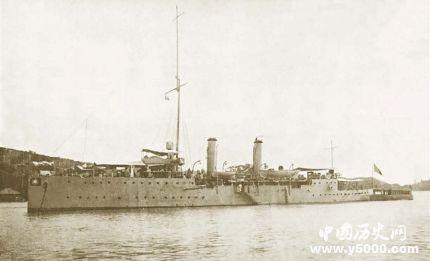 民国中山舰历史 中山舰在哪里?