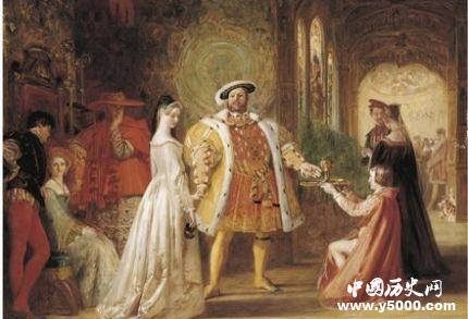 英國國王亨利八世生平 亨利八世的六個王后都是誰?