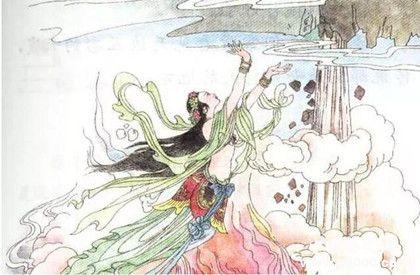 引用神話故事的詩詞_引用神話故事的詩詞有哪些?_中國歷史網