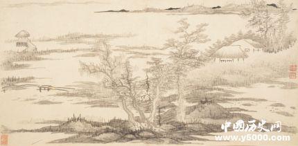 龚贤的绘画风格_龚贤代表作有哪些