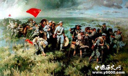红军长征出发地在哪里 红军长征出发时有多少人