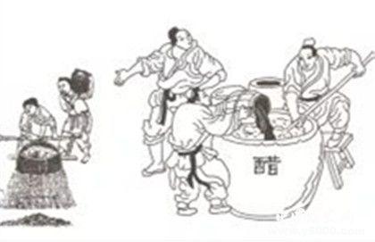 醋的起源与发展_中国四大名醋是哪些_中国历史网