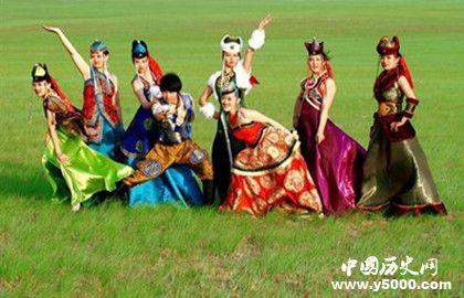 蒙古族服饰的特色_蒙古族服饰的寓意_中国历史网