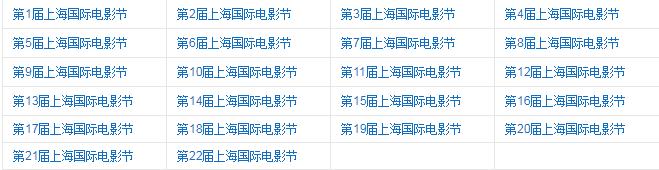 上海国际电影节的发展历程_历届上海国际电影节回顾_中国历史网