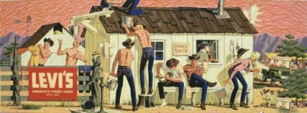 牛仔裤的起源_牛仔裤历史文化