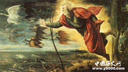 上帝七天创造世界故事_世界最初的七天的故事