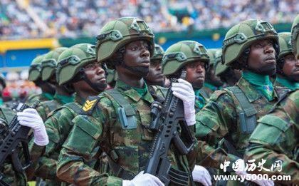 卢旺达阅兵喊中文_卢旺达阅兵喊中文的具体原因是什么_中国历史网