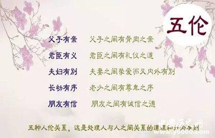 五伦八德是什么意思_五伦八德分别指什么_中国历史网
