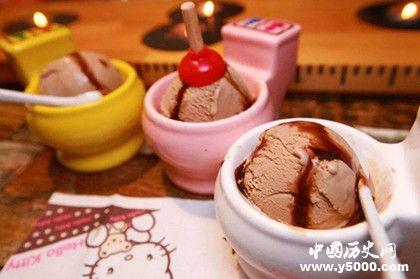 冰激凌的发展历史_中国冰激凌的历史_中国最早的冰激凌_中国历史网