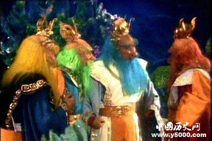 龙王为什么姓敖不姓龙_四海龙王为什么姓敖_龙王姓敖的原因_中国历史网
