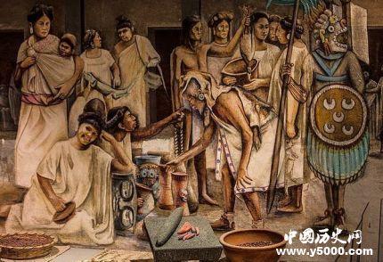 恐怖的阿茲特克文明_阿茲特克帝國活人祭祀_阿茲特克人是怎么對待祭品的