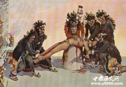 阿茲特克帝國的活人祭祀:四肢被分食 軀干喂異獸