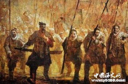 秦赵之间的战争_赵国为什么被秦国灭亡_秦国和赵国的关系_中国历史网