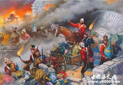 为什么英法联军烧了圆明园没烧故宫_为什么英法联军要烧掉圆明园