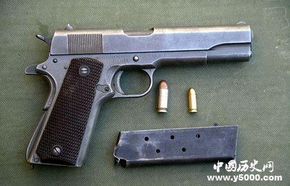 美国m1911_勃朗宁M1911_勃朗宁M1911的介绍