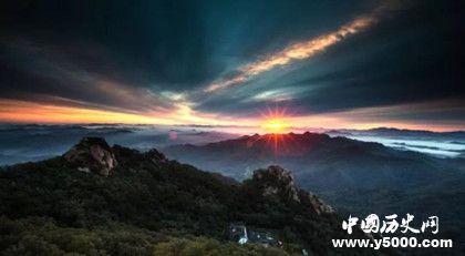 辽宁千山的由来_关于千山的传说_千山的由来_中国历史网