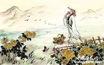 陶渊明经典诗句_陶渊明最著名的十首诗_陶渊明最有名的诗_中国历史网