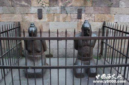现存的7处著名的秦桧跪像都在哪里