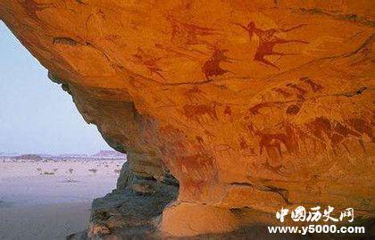 """""""沙漠壁画""""是哪些人创造的_""""沙漠壁画""""是什么人创造的_""""沙漠壁画""""是谁创造的_中国历史网"""