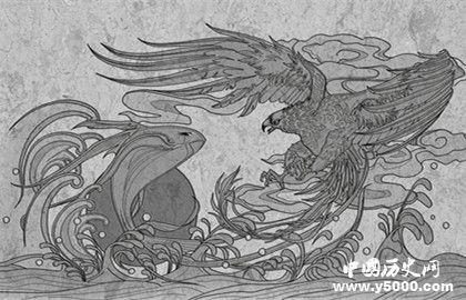 鲲鹏的寓意_有关鲲鹏的传说_北冥鲲的传说