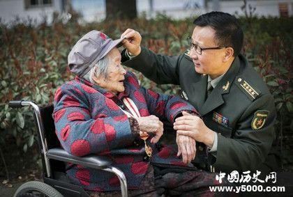 2019年健在老红军_2019年健在女红军_107岁女红军_中国历史网