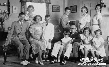 肯尼迪家族_肯尼迪家族有哪些人_肯尼迪家族成員現狀_中國歷史網