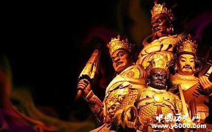 佛教四大天王都有誰_佛教四大天王的名字_佛教四大天王的簡介